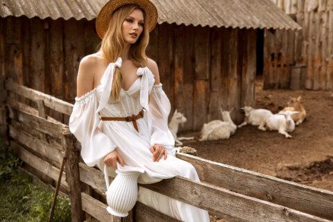 Свадебное платье Нэлли, Коллекция Montana Wind 2022, Anne-Mariée