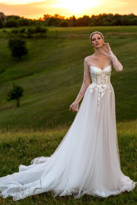 Свадебное платье Odail, Коллекция Montana Wind 2022, Anne-Mariée