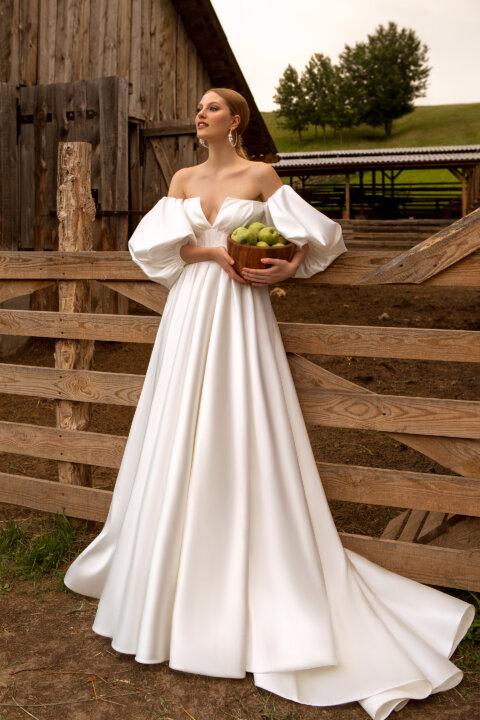 Свадебное платье Рита, Коллекция Montana Wind 2022, Anne-Mariée